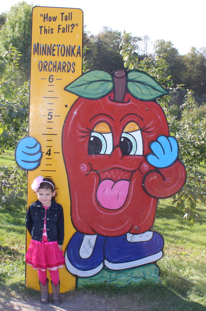 Madiana at the Minnetonka Apple Orchard