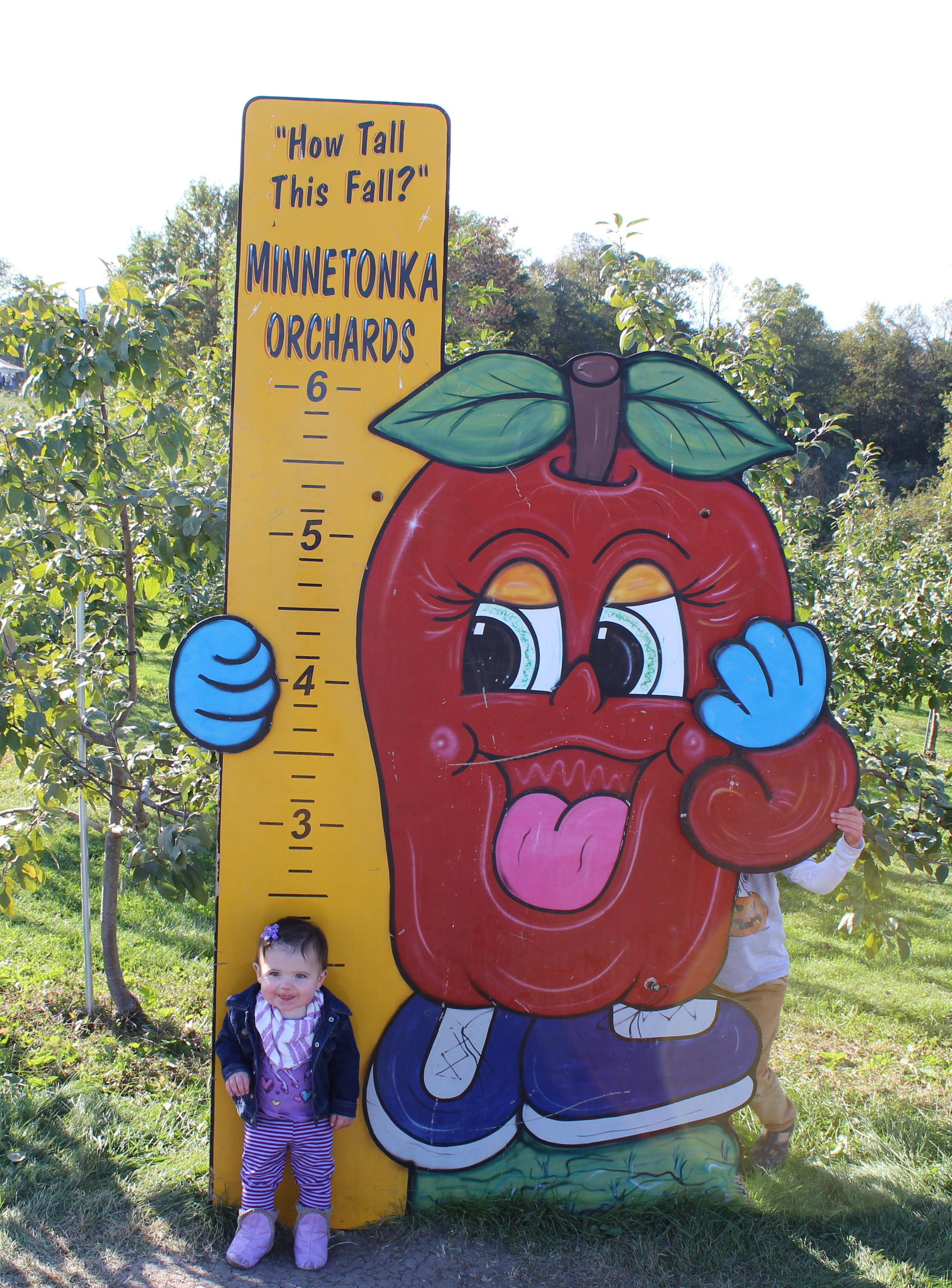 Gretchen at the Minnetonka Apple Orchard