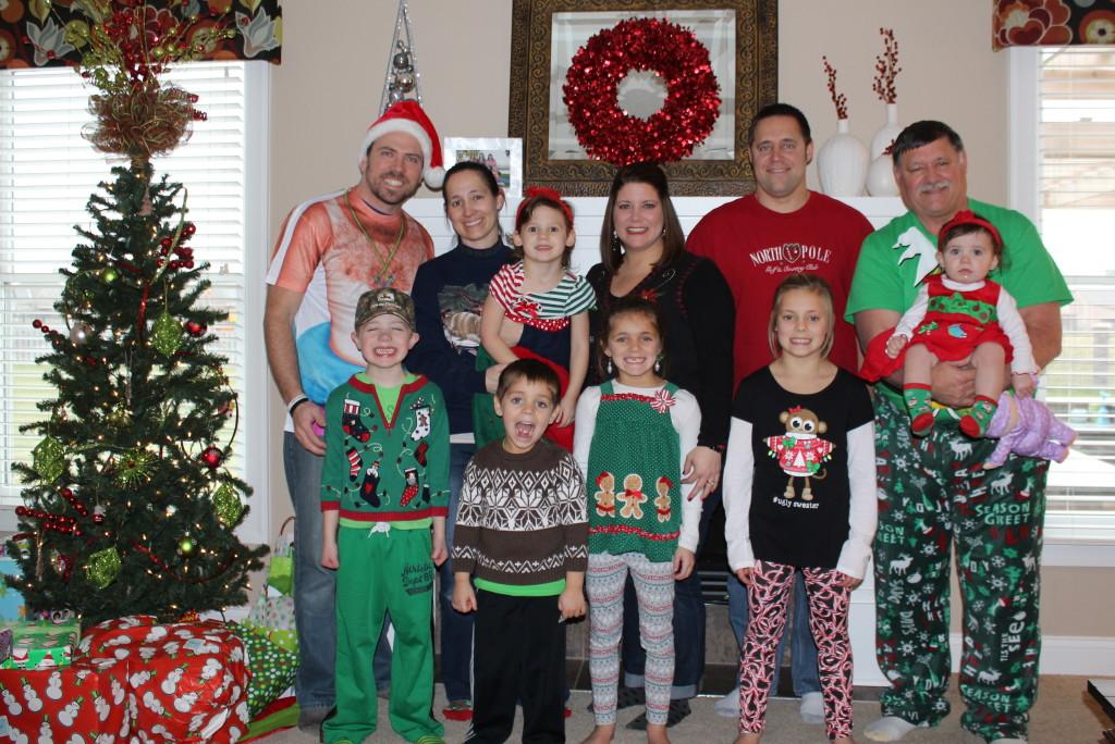 Gott Family Christmas 2015