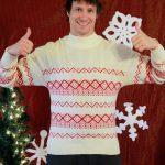 2017 Ugly Sweater Aaron