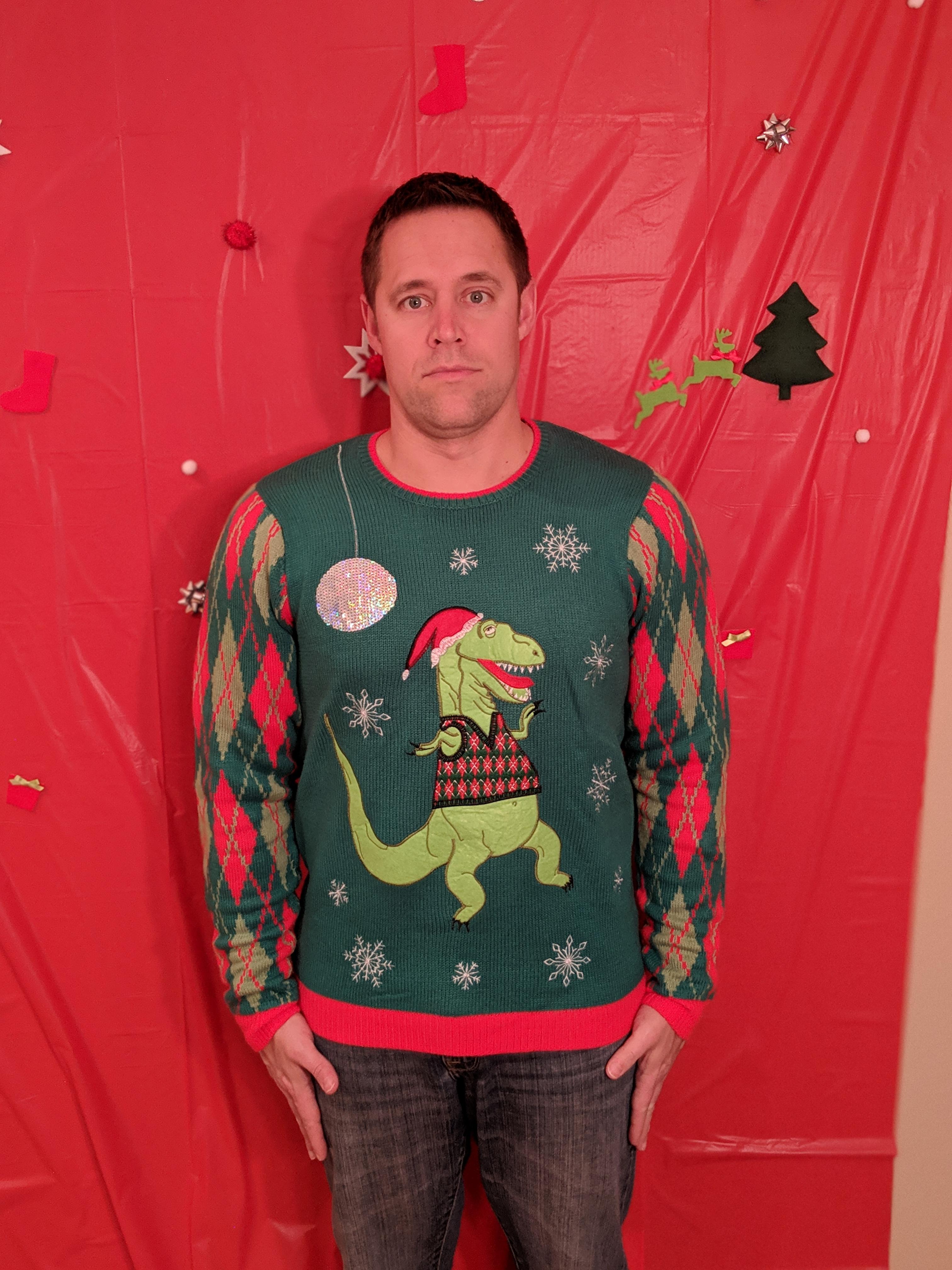 2018 Ugly Sweater Ryan