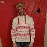 2018 Ugly Sweater Aaron